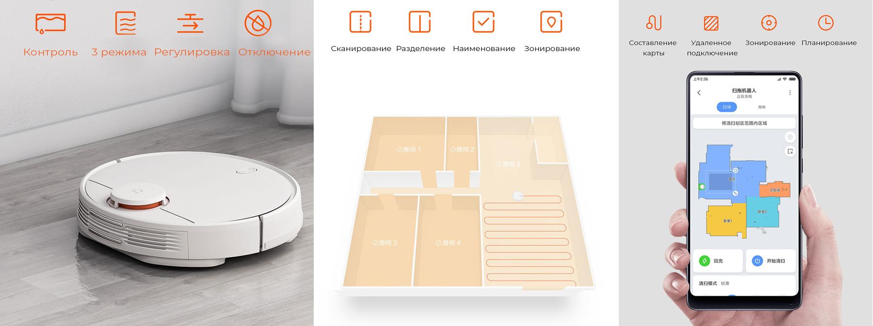 Преимущества робота-пылесоса Xiaomi Mijia LDS Vacuum Cleaner