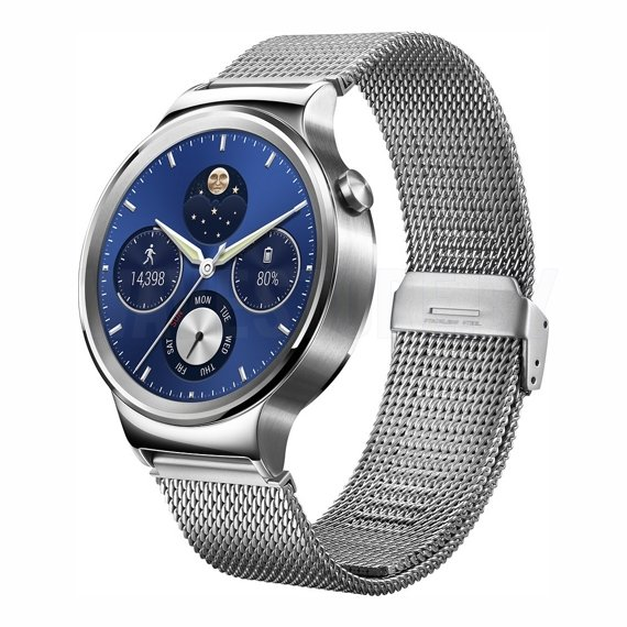 Умные часы Huawei Watch Active (Silver/Stainless Steel Mesh)