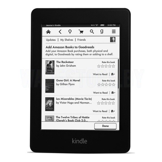 Электронная книга Amazon Kindle Paperwhite (2012) 2 Gb