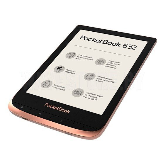 Электронная книга PocketBook Touch HD 3 (632) Spicy Copper