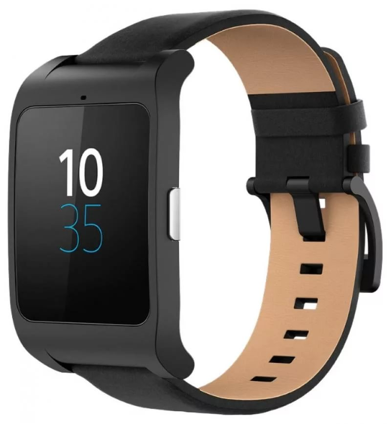 Умные часы Sony SmartWatch 3 SWR50 (Black) Leather