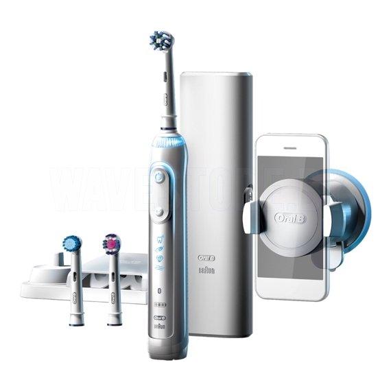 Электрическая зубная щетка Braun Oral-B Genius 8000 (D701.565.5XC) White