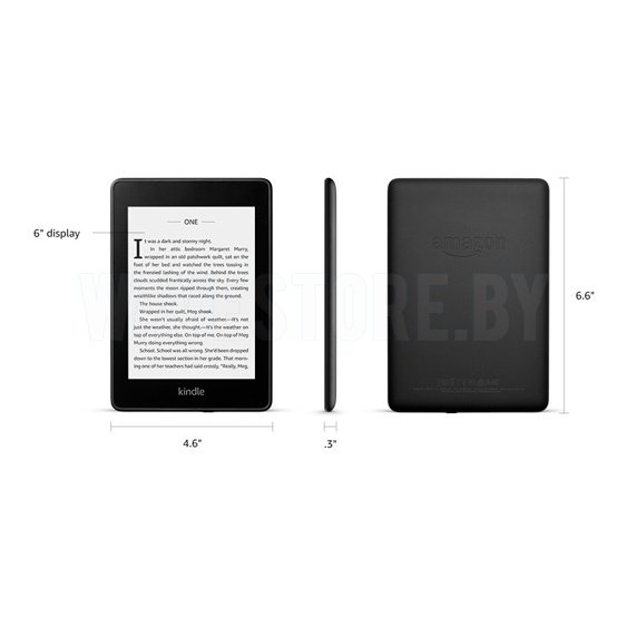 Электронная книга Amazon Kindle Paperwhite 2018 8Gb Black