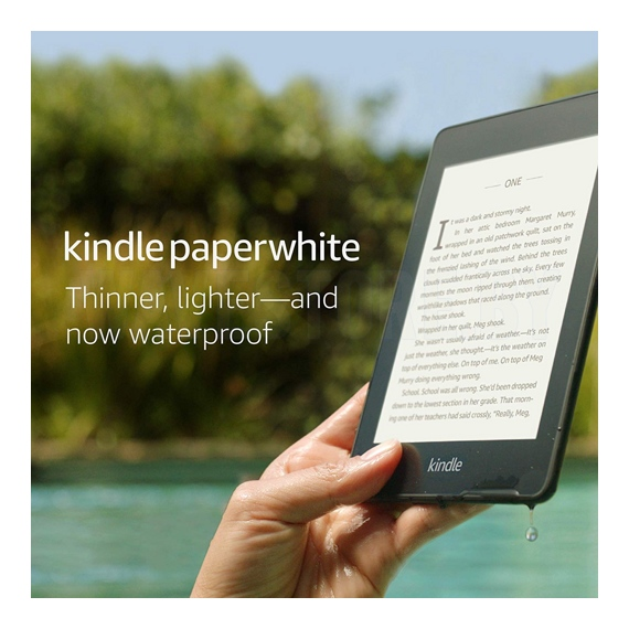 Электронная книга Amazon Kindle Paperwhite 2018 8Gb (Blue)