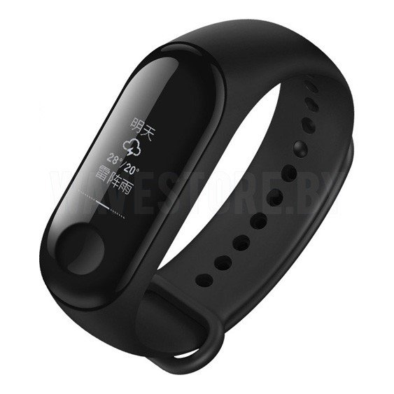 Умный браслет Xiaomi Mi Band 3 (Black) International