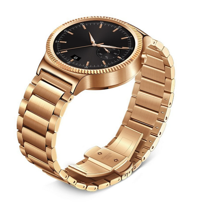 Умные часы Huawei Watch Active (Rose Gold/Gold Stainless Steel Link)