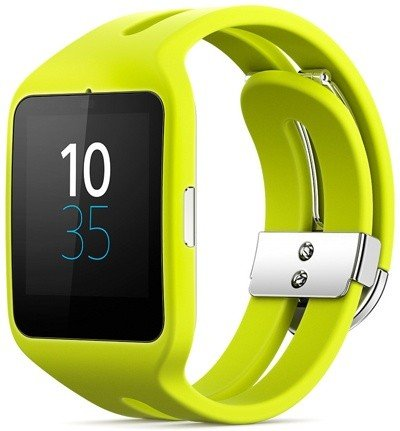 Умные часы Sony SmartWatch 3 SWR50 (Lime) Silicone