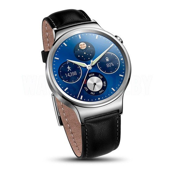 Умные часы Huawei Watch Classic (Silver/Black Leather)
