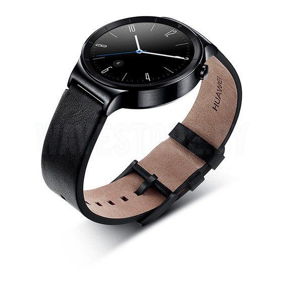 Умные часы Huawei Watch Classic (Black/Black Leather)